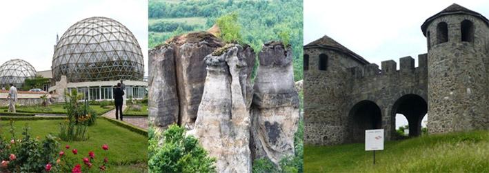 """Grădina Botanică Jibou • Rezervația """"Grădina Zmeilor"""" • Castrul roman """"Porolissum"""" – foto Ștefania Marineanu"""